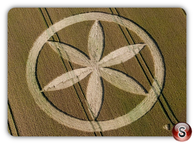 Crop circles - Buckland, Oxfordshire 2008