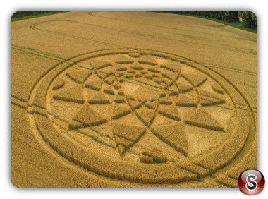 Crop circles Highworth - Wiltshire 2017