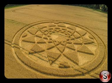 Crop circles - Highworth Wiltshire 2017
