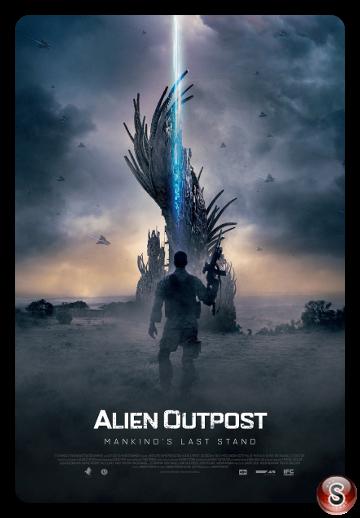 Alien Outpost - Locandina - Poster