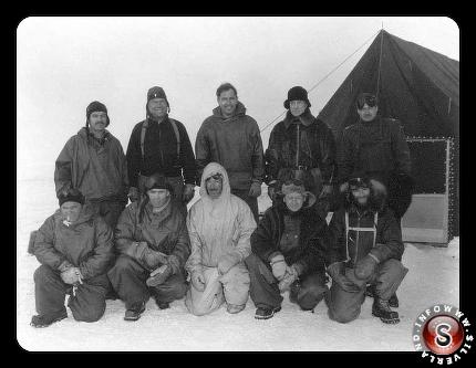 Operation 'hig jump' at an Antartic base 1946 - 47