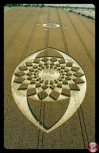 Crop circles - Marden, Wiltshire 2005