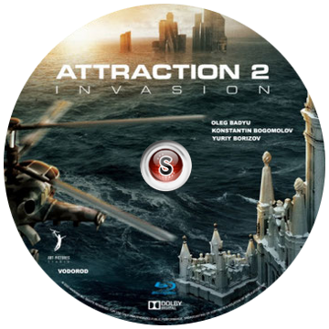 Attraction 2 invasion Cover DVD
