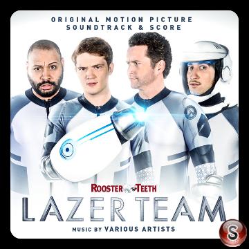 Lazer team Soundtrack Cover CD