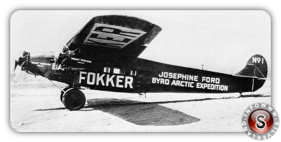 Fokker F7a-3M Josephine Ford ARTIC EXPEDITION