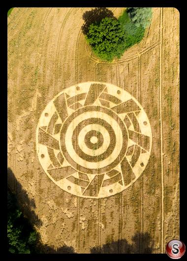 Crop circles Ammersee - Bavaria 2020