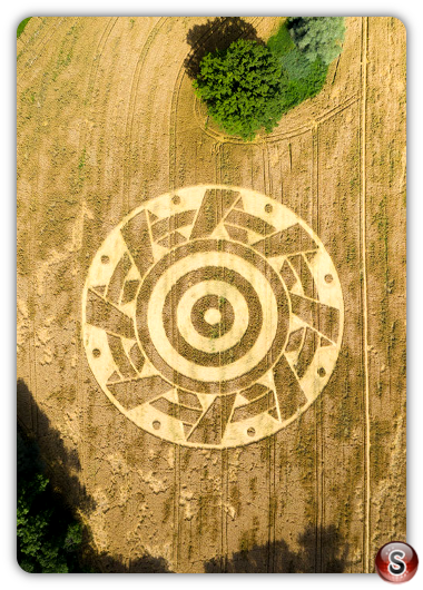 Crop circles - Ammersee Bavaria 2020