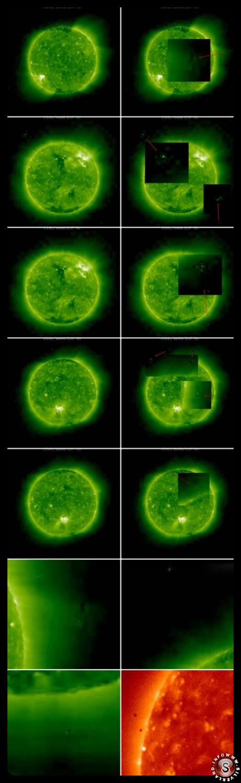 Ufo on the Sun