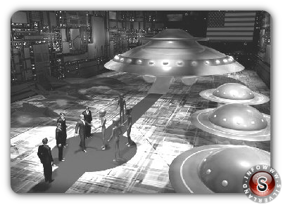 Incontro tra umani e alieni