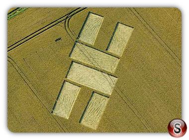Crop circles - Stanton St. Bernard 2011