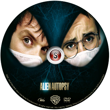 Alien autopsy Cover DVD