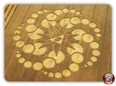 Crop circles - eastfield 2008