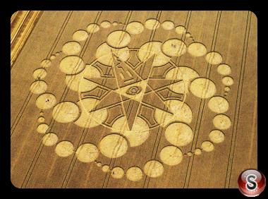 Crop circles - Eastfield 2008