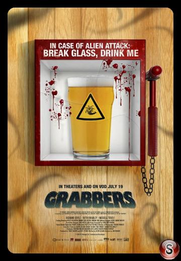 Grabbers - Locandina - Poster
