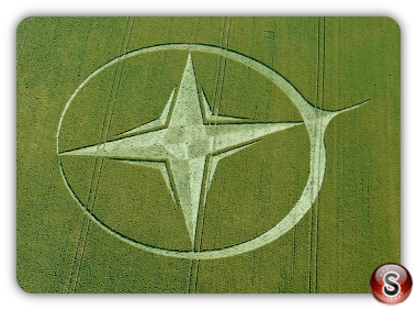 Crop circles Wiltshire UK. 2013