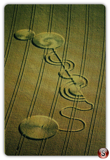 Crop circles - Andover Hants UK 1994