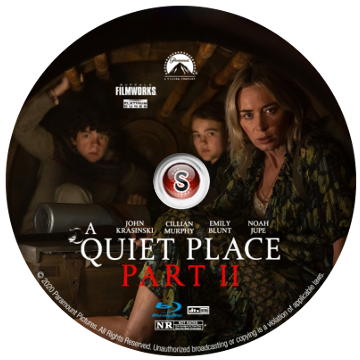 A quiet place 2 Cover DVD