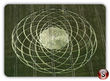 Crop circles - Alton Priors, Wiltshire 1997