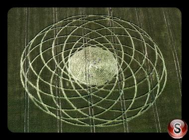 Crop circles - Alton Priors Wiltshire 1997