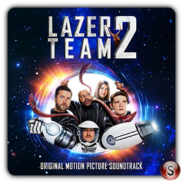 Lazer team 2 Soundtrack Cover CD