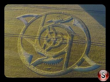 Crop circles - Hackpen Hill Wiltshire 2016