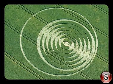 Crop circles - Tichborne Hampshire 2016