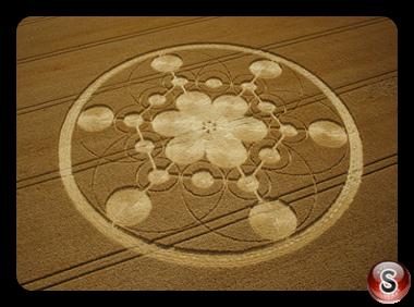 Crop circles - Chisbury Wiltshire 2003