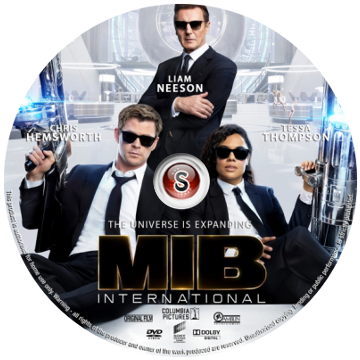 Men in black International Cover DVD