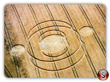 Crop circles -  Deacon Hill Hertfordshire 2000