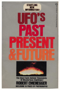 Ufos past present and future poster