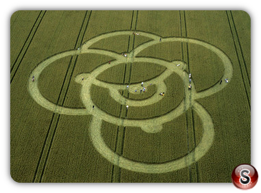 Crop circles - North Down, Wiltshire 2000