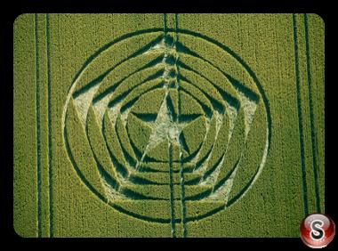 Crop circles - Wilmington longman East Sussex 2014