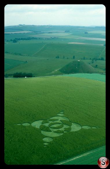 Crop circles - Stonehenge Wiltshire 2002
