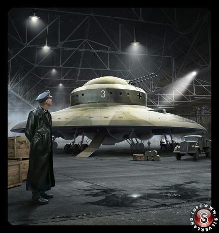 Nazi UFO - Ricostruzione