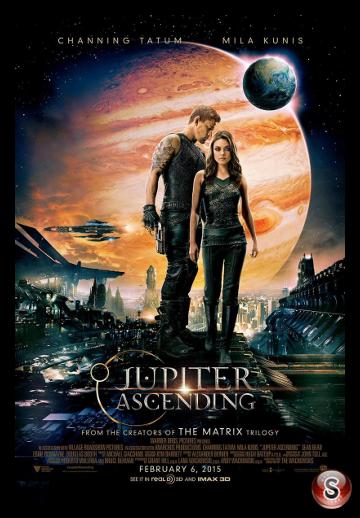 Jupiter ascending - Locandina - Poster