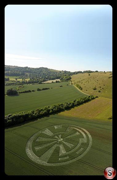 Crop circles - Oare Wiltshire 2010