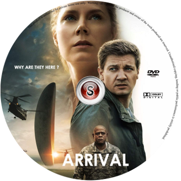 Arrival Cover DVD