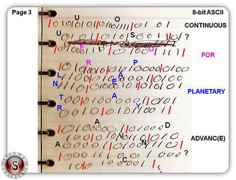 Rendlesham code binary page 3
