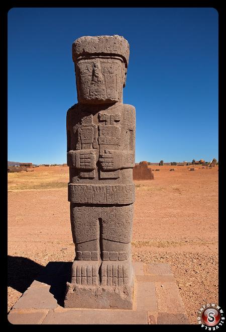 "Monolite ""Ponce"" - Tempio Kalasasaya - Tiwanaku"