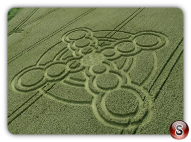 Crop circles Atherington - West Sussex 2017
