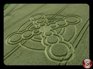 Crop circles - Atherington West Sussex 2017