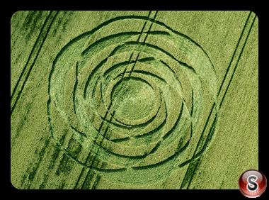 Crop circles - Uffcott Wiltshire UK 2015