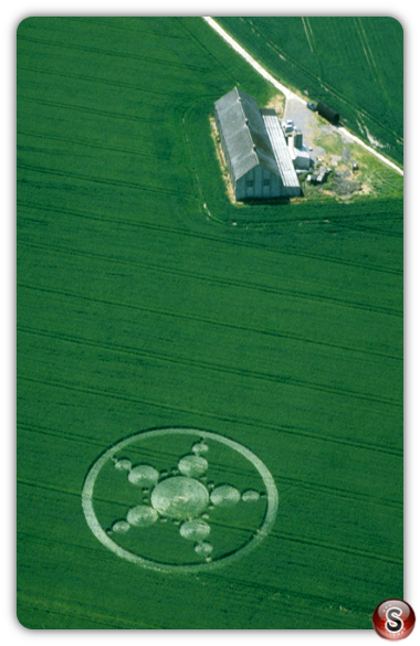Crop circles - Avebury Trusloe, Wiltshire 1999