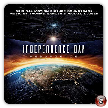 Independence Day: Resurgence Soundtrack Cover CD