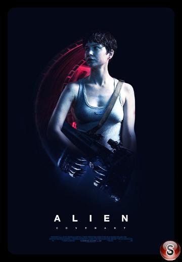 Alien covenant - Locandina - Poster