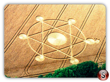Crop circles - Telegraph Hill Hampshire 2000