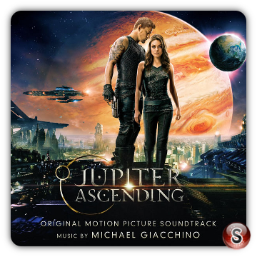 Jupiter ascending Soundtracks Cover CD