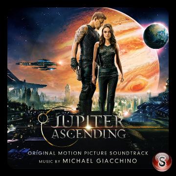 Jupiter ascending Soundtrack Cover CD