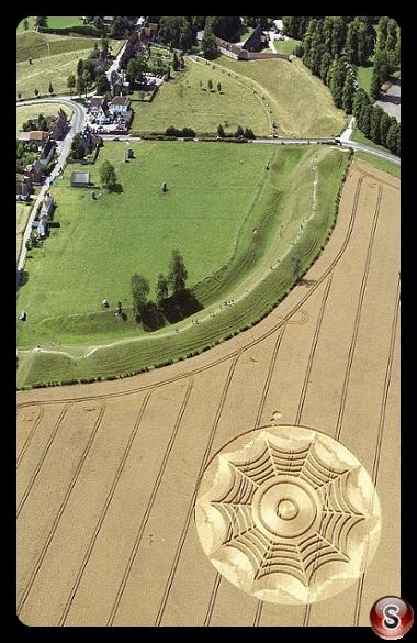 Crop circles - Avebury Henge, Wiltshire 1994