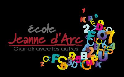 Création du logo - École Jeanne d'Arc - Couhé